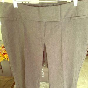 BRAND NEW TORRID DRESS SLACKS Grey SIZE 16 TALL